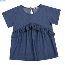 popular toddlers denim dress buy cheap toddlers denim