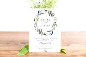 Modern Watercolor Leaves Clipart For Wedding Invitations Logos More