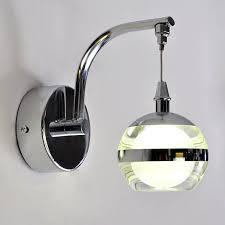 modern led acrylic wall l bedroom bedside wall light lustre