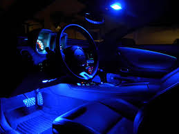 Blue Footwell And Dome Light - Camaro5 Chevy Camaro Forum / Camaro ...