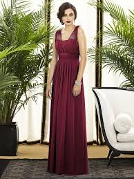 A gorgeous long chiffon bridesmaid dress with cap sleeves