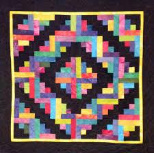 Easy Log Cabin Quilt Block Pattern