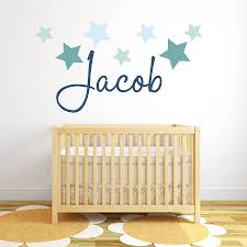 Baby Wall Decals South Africa by Star Name Fabric Wall Stickers By Littleprints