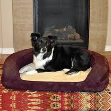 amazon com k h pet products deluxe ortho bolster sleeper pet bed