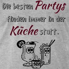 die besten partys finden immer in der küche männer premium t shirt