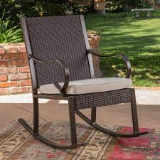 Hacienda Outdoor Wicker Rocking Chair With Cushion, Dark Brown And Cream Corvus Salerno Outdoor Wicker Rocking Chair With Cushions Hampton Bay Park Meadows Brown Swivel Lounge Beige Cushion Check Out Spring Haven Patio Rocker Included Choose Your Own Color Shopyourway 1960s Vintage In Empty Room With Wooden Floor Stock Photo Knollwood Victorian Child Size American 19th Century Wicker Rocking Chair Against The Windows Curtains Indoor Dark Green 848603015287 Ebay Amazoncom Tortuga Two Porch Chairs And Fniture Best Way For Relaxing Using
