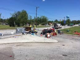 100 Truck Town Summerville Authorities UHaul Truck Explosion Near Orangeburg Road Central