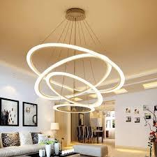 minimalisme led moderne lustre éclairage laras colgantes