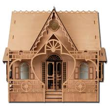 Amazoncom Greenleaf Dollhouses Laser Cut Diana Dollhouse Kit Toys