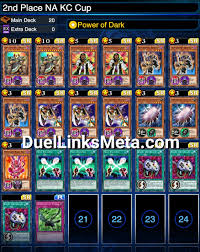 na kc cup 2nd place deck report duellinks