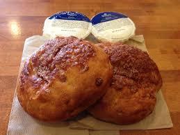 Panera Pumpkin Bagel by Cinnamon Crunch Bagels W Plain Cream Cheese Yelp