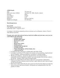 Chef Cover Letter Sample Vegetable Resume Good Examples Electrician Assistant Culinary