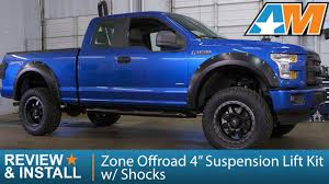100 Best Shocks For Lifted Trucks 20152017 F150 Zone Offroad 4 Suspension Lift Kit W 4WD