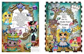 Coloring Books SIGNED COPIES By The Artist Sherri Baldy My Besties Alice And Looking Glass Book For Adults All Ages Now