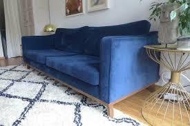 samt sofa alva westwing 3 sitzer in münchen