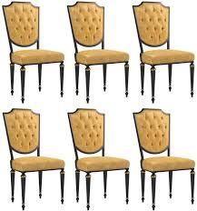 casa padrino luxus barock esszimmer stuhl set gold schwarz antik gold 50 x 50 x h 105 cm edle küchen stühle mit hochwertigem leder barock