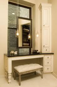 Vanity Table With Lights Around Mirror by Best 25 Bathroom Makeup Vanities Ideas On Pinterest Makeup