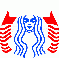 How To Draw The Starbucks Logo Step By Symbols Pop Culture
