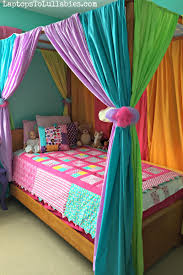 Twin Metal Canopy Bed Pewter With Curtains by House Tour Upstairs U2013 Heather U0027s Handmade Life