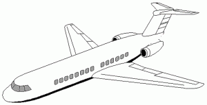 Printable 2014 Airplane Coloring Pages For Preschool