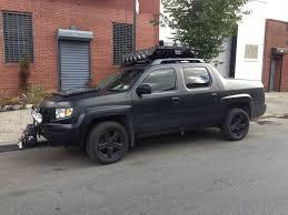 This Honda Ridgeline Is Ready For Zombies SHTF truck
