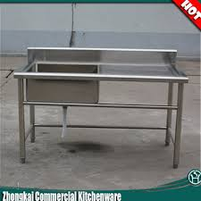 stainless steel restaurant table with sink best sink decoration