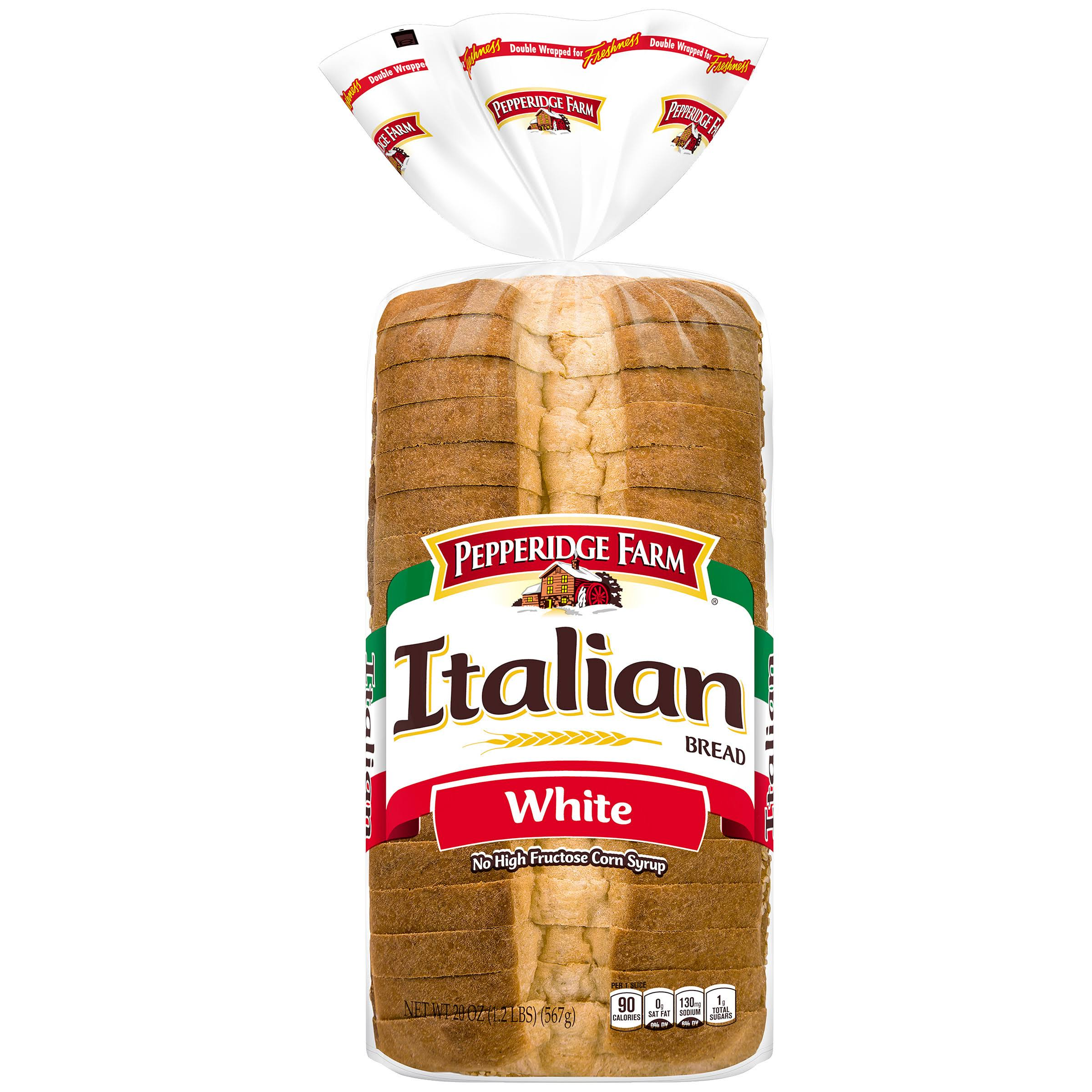 Pepperidge Farm White Italian Bread - 20oz