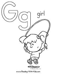 Letter G Coloring Sheet Letters Alphabet ColoringSheets