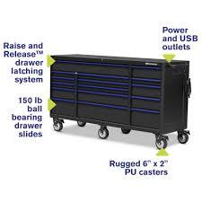 100 Service Truck Tool Drawers 72 X 24 16Drawer Cabinet Montezuma Boxes Storage