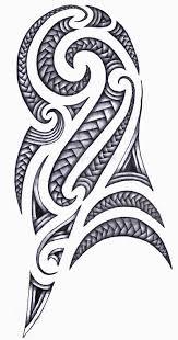 Latest Polynesian Armband Tattoos Set Photo