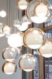 glass globe pendant light foter