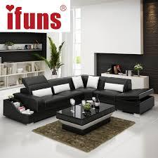 Living Room Corner Seating Ideas by Ifuns Recliner Leather Corner Sofa Set European Style L Shape