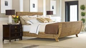 Rattan Bedroom Furniture Sleigh Bed Modern House Design Amazing