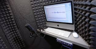 Recording TruVoice Studios Temple University