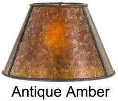 Small Uno Fitter Lamp Shade by Fitter Mica Lamp Shade Empire Style Antique Amber