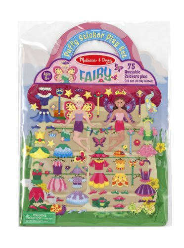 Melissa & Doug Fairy Puffy Sticker Play Set