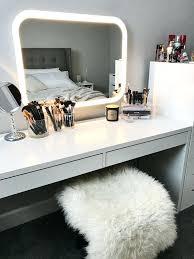 Makeup Desk Storage The Perfect Furniture Set Up Makeup Vanity