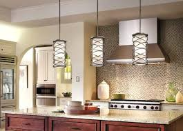 what size light fixture for kitchen island pendant height