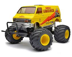100 Monster Truck Lunch Box Tamiya 2WD Electric Kit TAM58347 Cars S