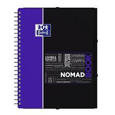 Oxford Cahier à Spirales 24 X 32 Cm Nomadbook Grands Carreaux 160