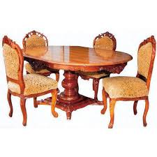 wooden dining table at rs 20000 set dining table luzaca