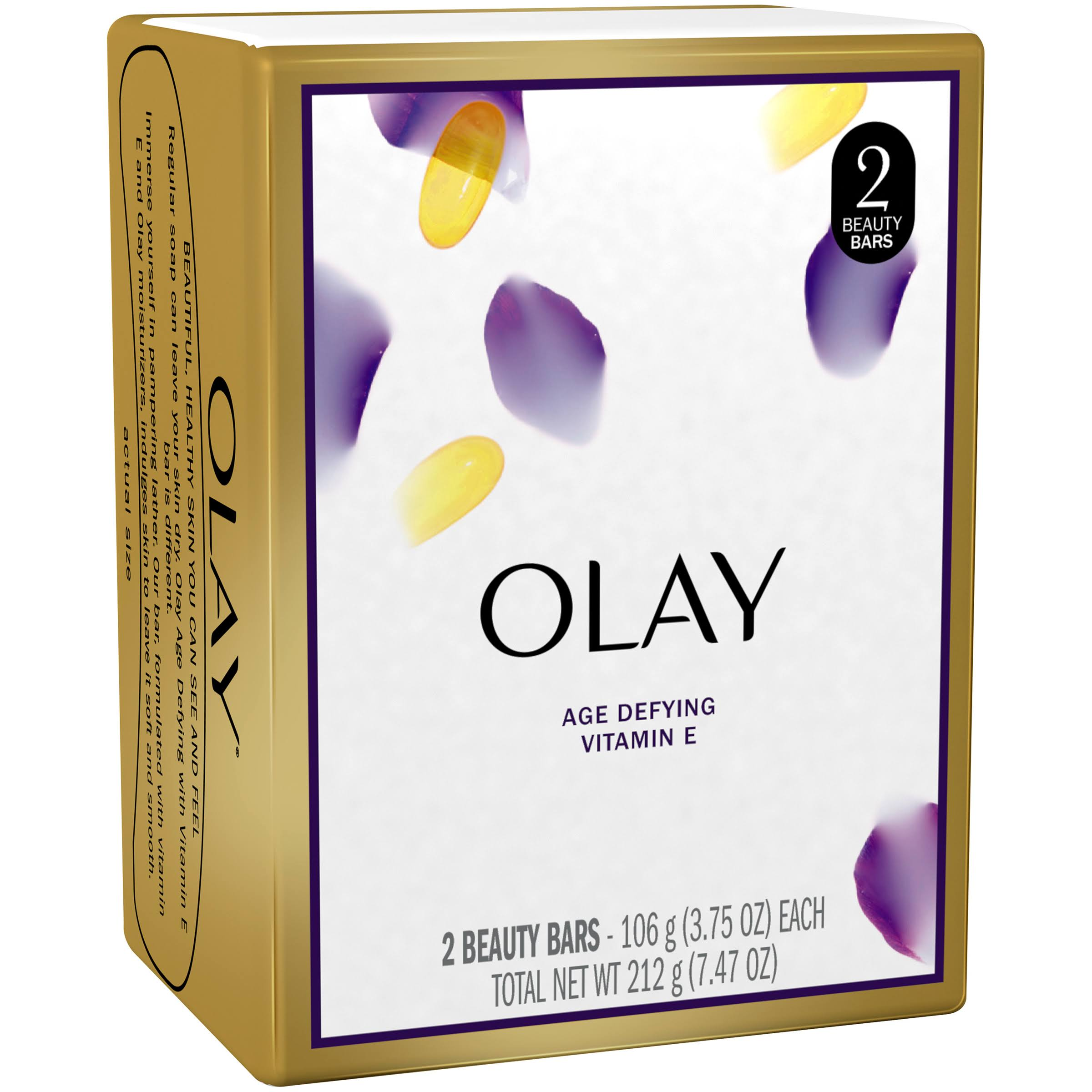 Olay Age Defying Beauty Bar - 2pk, 106g