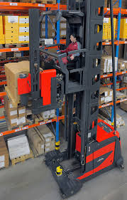 100 Turret Truck New Forklift Sales K Series 011 ManUp Electric