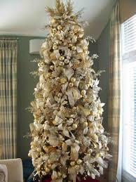 Hayneedle Flocked Christmas Trees by Decorated Flocked Christmas Trees Cheminee Website
