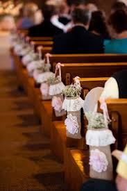 Chic Church Country Wedding Decorations