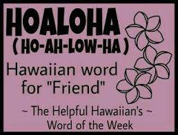 Hawaiian Word Of The Week