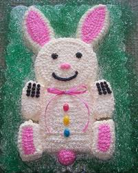 Growing In Grace Spring Bunny Cut Up Cake I Remember Making An Easter Such Good Memories Of Course It Could Be For A Birthday Or Other Party