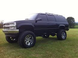 100 454 Truck 1999 K2500 Chevy Suburban On 38 Mickey Thompsons Lifted