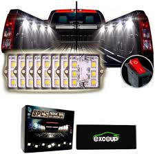 100 Lights For Trucks LED For Truck Bed LED Lighting Kit Pickup Bed With 48 Super Bright SMD LEDs Waterproof
