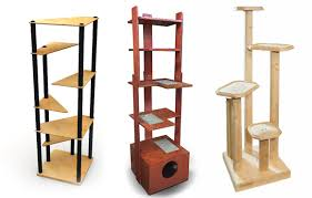 modern cat tower banish the beige carpet check out these cool cat trees catster